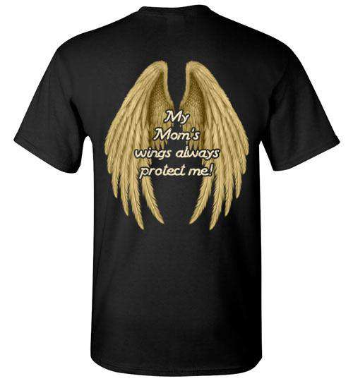 YOUTH: My Mom's Wings Always Protect Me T-Shirt
