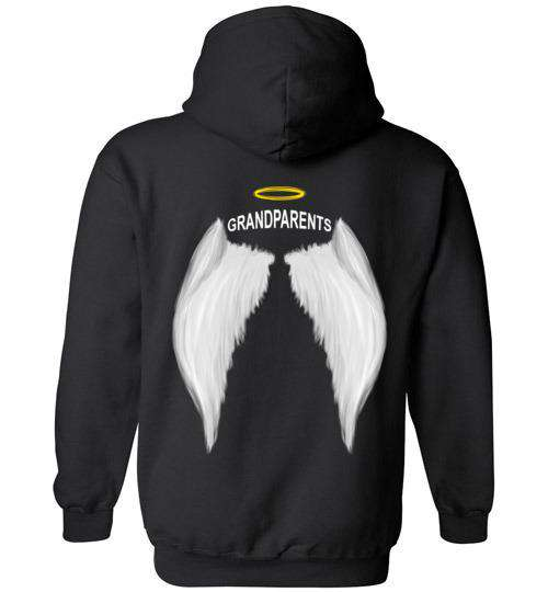Grandparents  - Halo Wings Hoodie