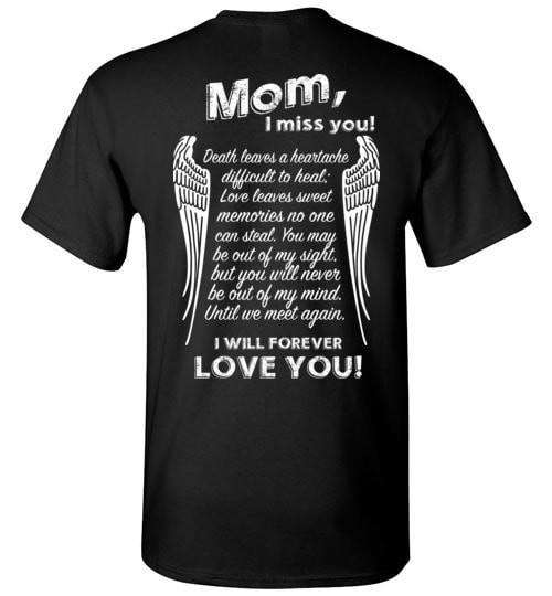 Mom I Miss You Unisex T-Shirt - Guardian Angel Collection
