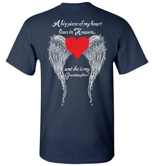 Granddaughter - A Big Piece of my Heart T-Shirt