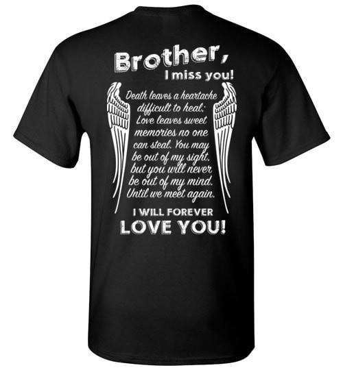 Brother I Miss You Unisex T-Shirt - Guardian Angel Collection