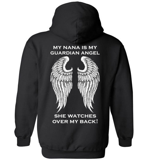 YOUTH: My Nana is My Guardian Angel Hoodie
