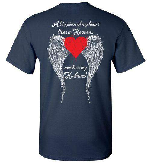 Husband - A Big Piece of my Heart T-Shirt