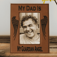 My Dad Is My Guardian Angel Laser Engraved Picture Frame Reviews