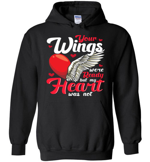 (custom) Your wings - Mom I miss you Hoodie