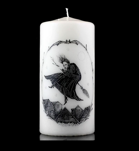 Gothic candles