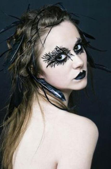 The fierce side of pastel Goth: animal inspired