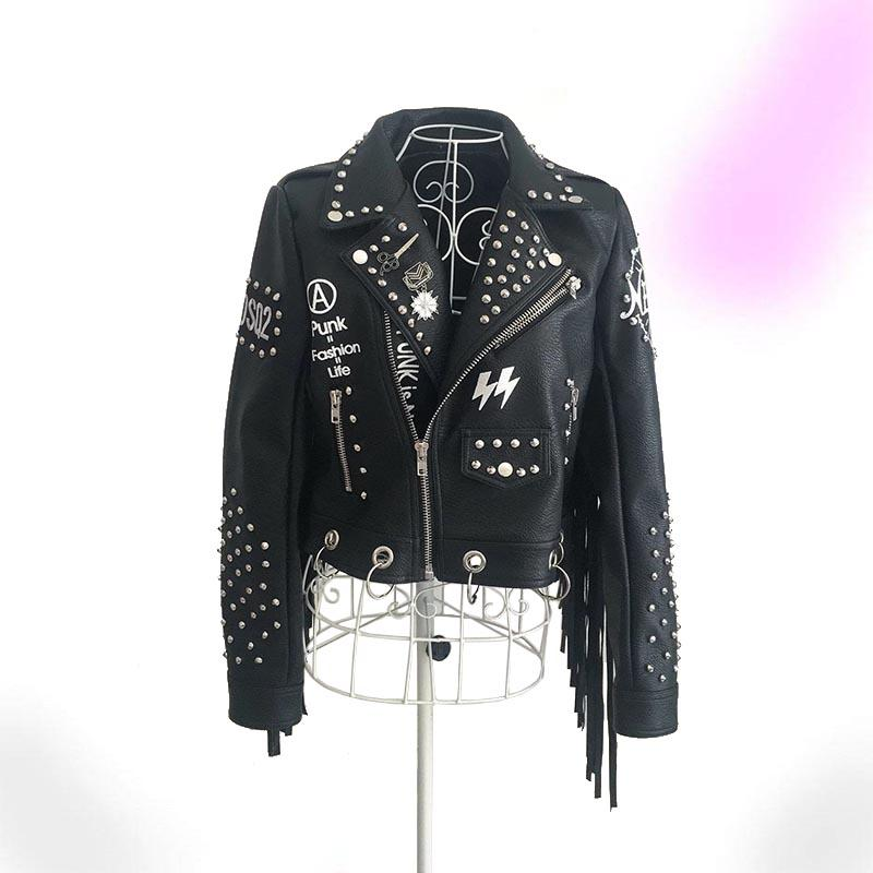 Fancy Punk Leather Jacket
