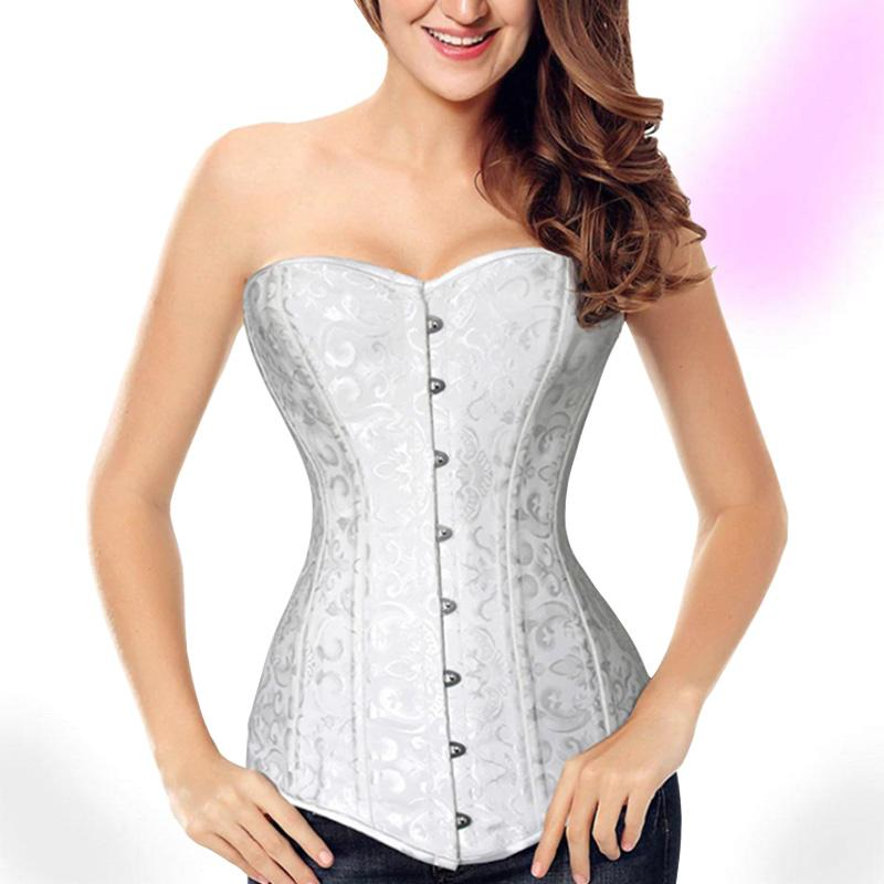 Classy Overbust Gothic Corset