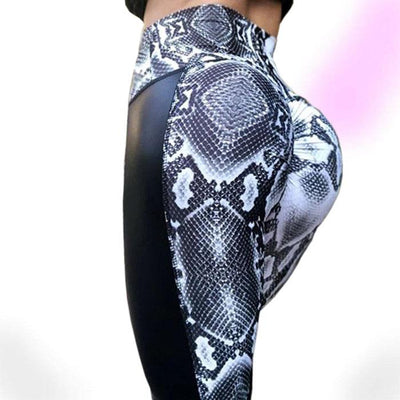 Flirty Viper Fitness Leggings