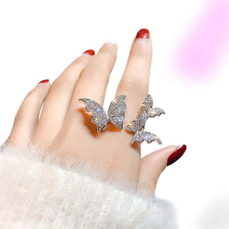 Secret Spark Butterfly Ring