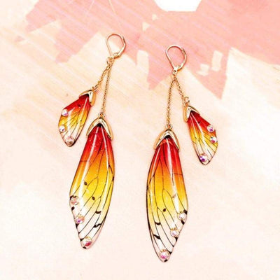 Enchanted Fairy Wing Earrings