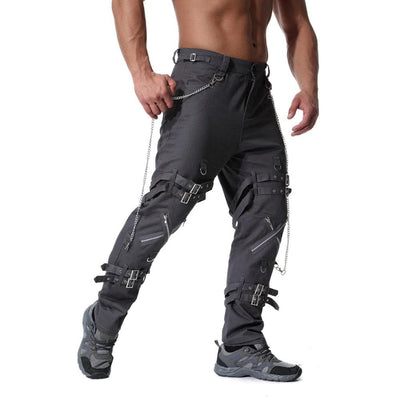 Punk Rock Bondage Pants