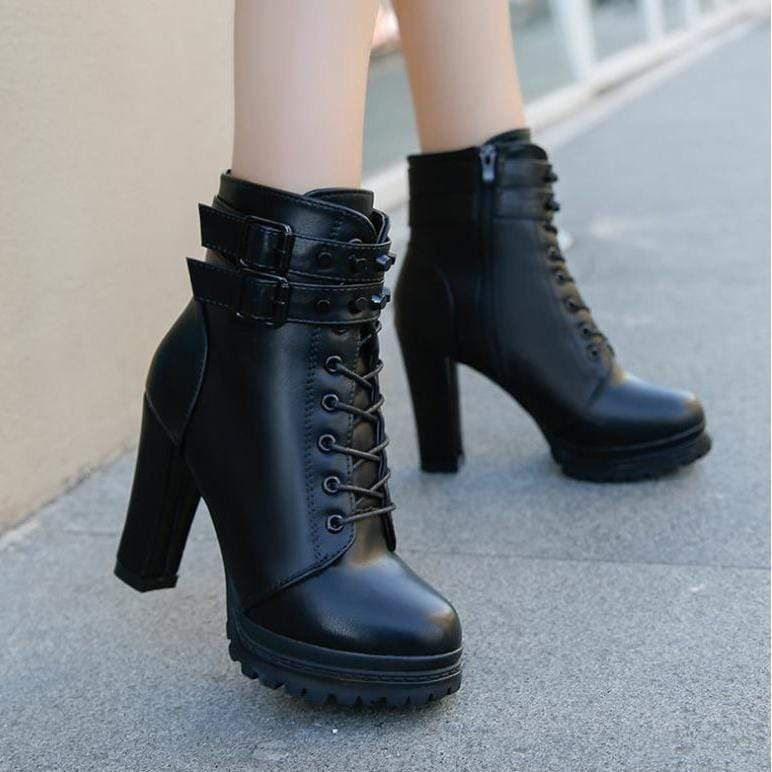 Rivet Rider Gothic Boots