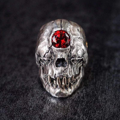 Demon Skull Ring
