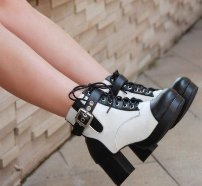 Fatal Blow Gothic Boots