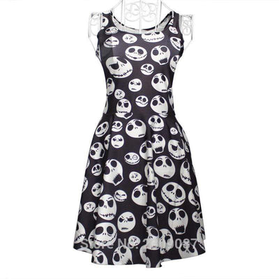 Got The Tea Polka Skull Dress