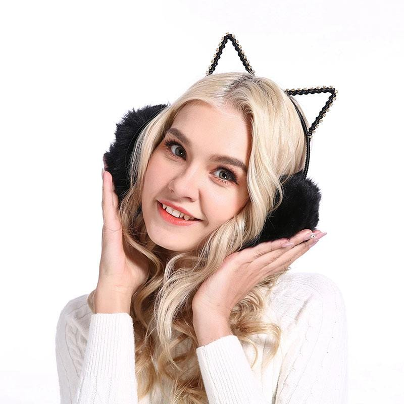Sweet Cat Earmuffs