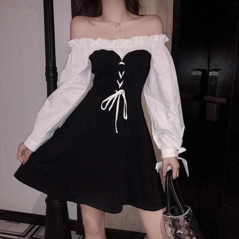 Lolita Off Shoulder Dress