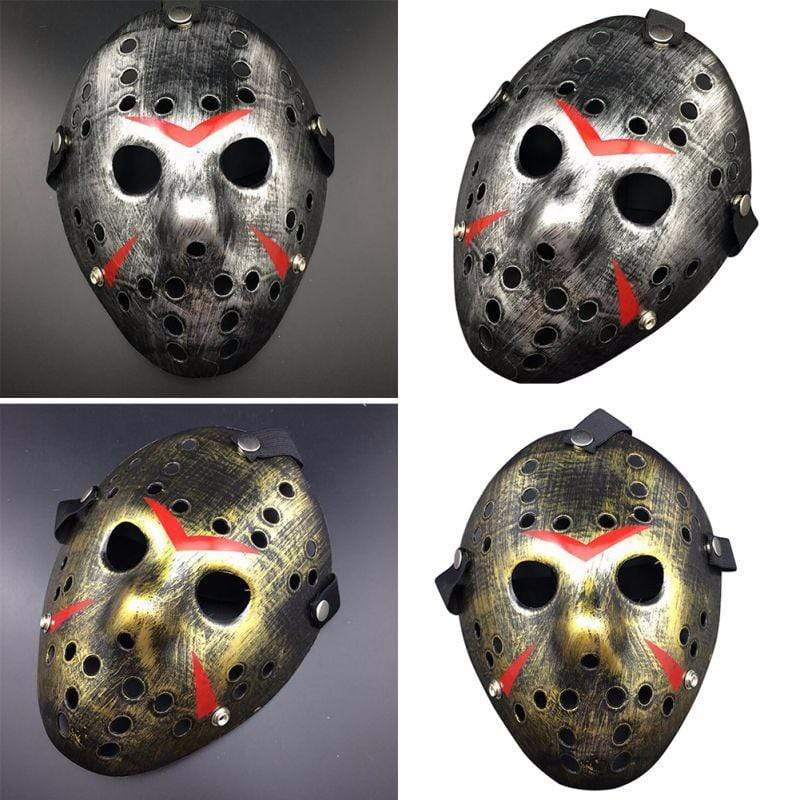 Horror Hockey Halloween Mask