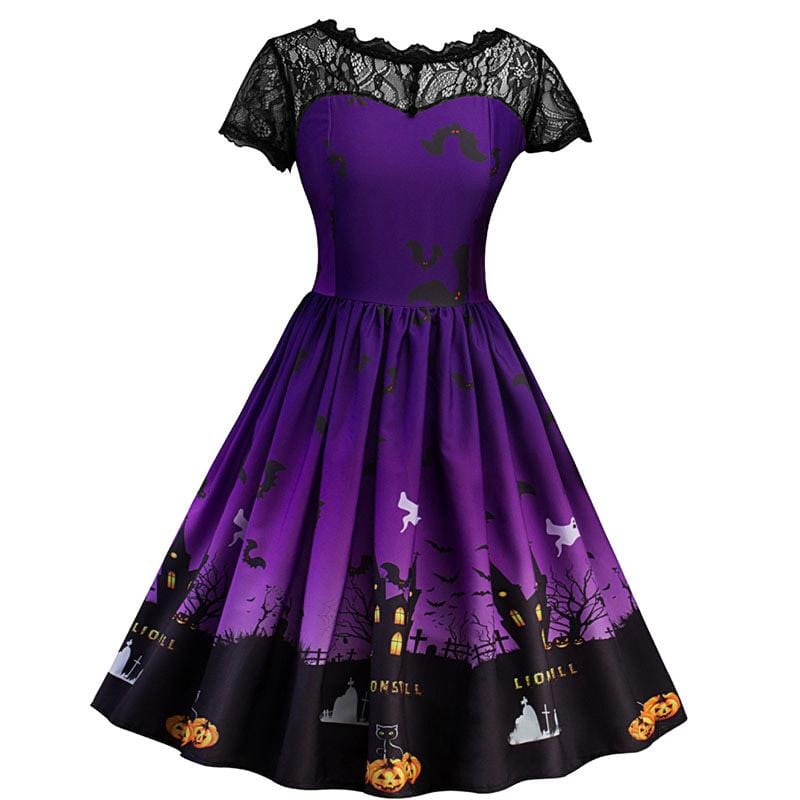 Dark Enchanted Dress