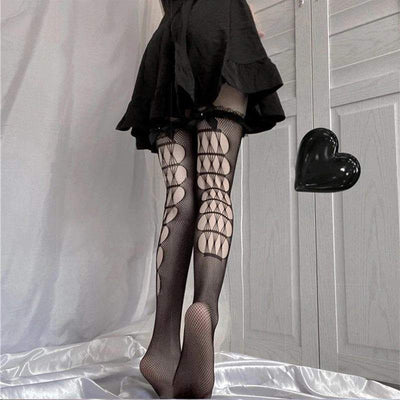 Hollow Out Gothic Stockings