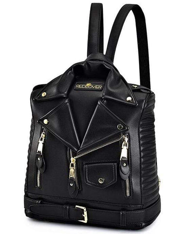 Ladies Leather Bikes Gothic Bag