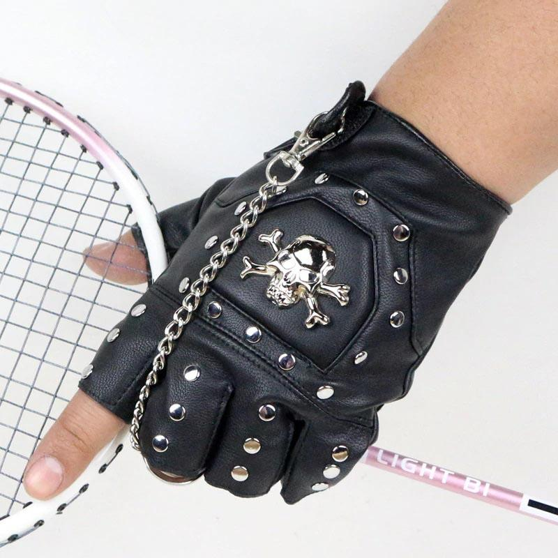 Gothic Punk Gloves