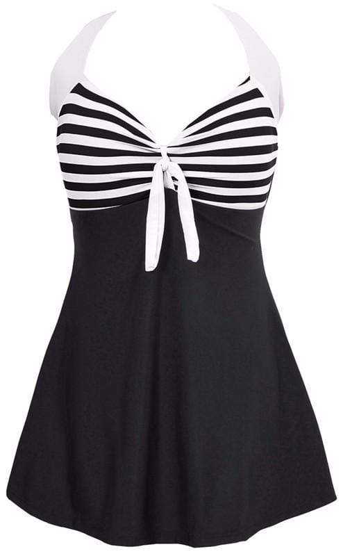 Run It Striped Swimsuit