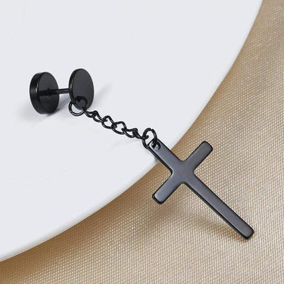 Celestial Crucifix Earrings