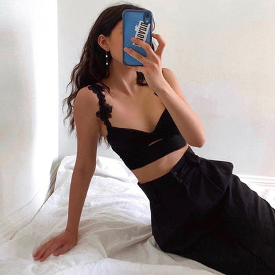 Beautifully Dark Crop Top