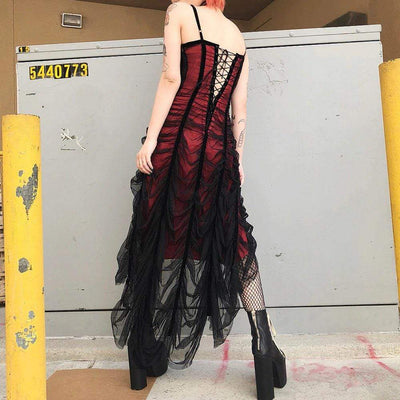 Bloody Summer Gothic Dress