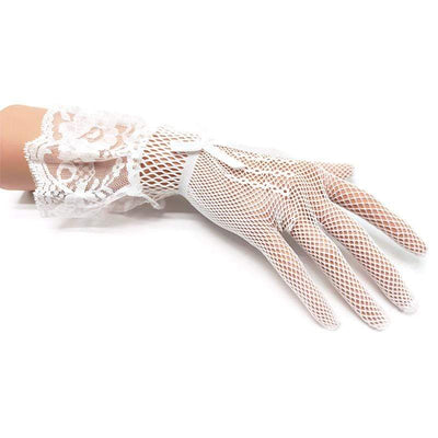 Mesh Gothic Sweet Gloves
