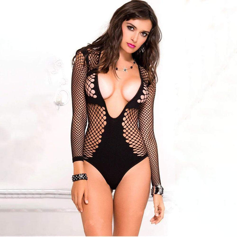 Erotic Bae Fishnet Bodysuit