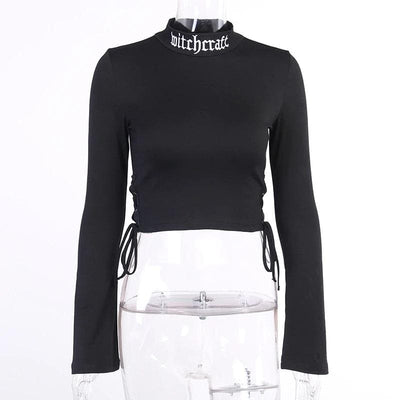 Lolita Vintage Crop Top Shirt