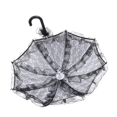Gothic Bridal Umbrella