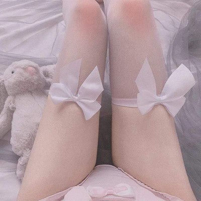 Sweet Ribbon Stockings