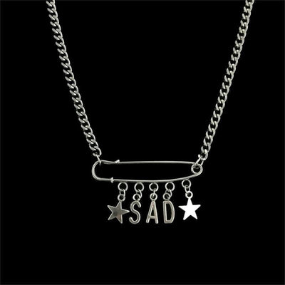 Melancholic Star Necklace