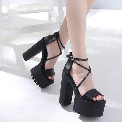 Payback Buckle Sandal