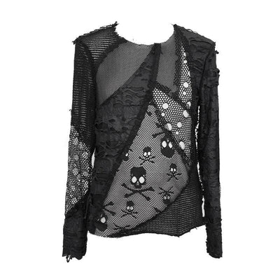 Rebellious Punk Gothic Shirt