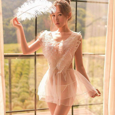 Angel Wings Sexy Erotic Lingerie