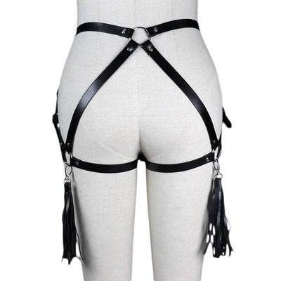Sensual Bride Gothic Leather Harness