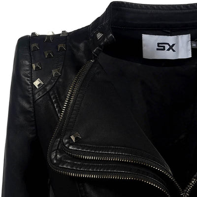 Jean Rider Faux Leather Jacket