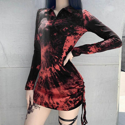 Cosmo Scarlet  Dress