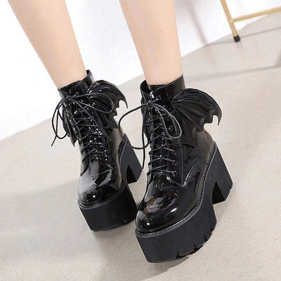 Devil Winged Boots