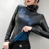 Winter Gothic Leather Shirt