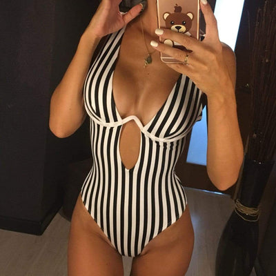 Royal Flush Stripe Bodysuit