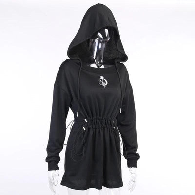 Lil Moon Flower Dress Hoodie