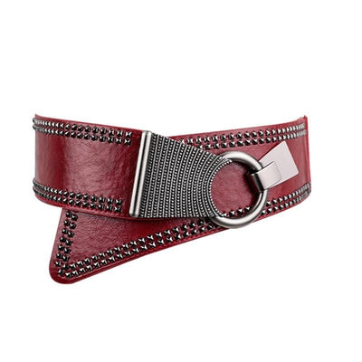Steampunk Rivet Belt