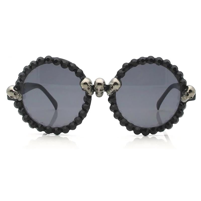 Trendy Skull Retro Sunglasses